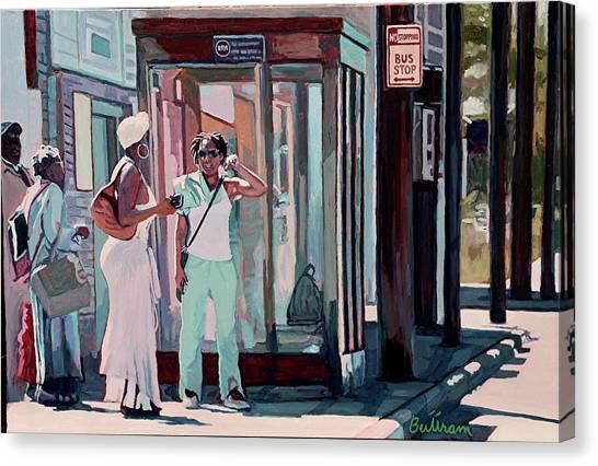 Canvas Print - Mrs. Brown by David Buttram