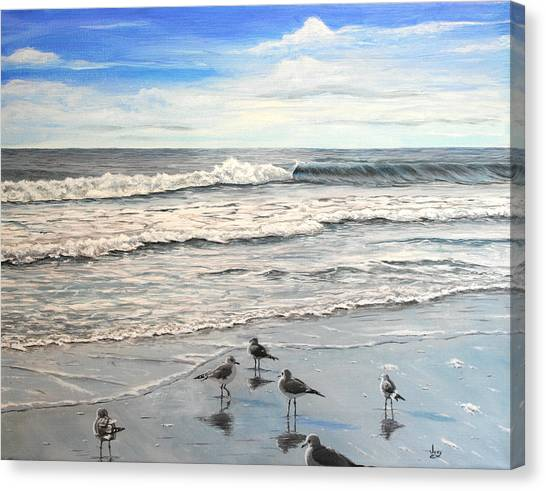 Mrytle Beach Canvas Print