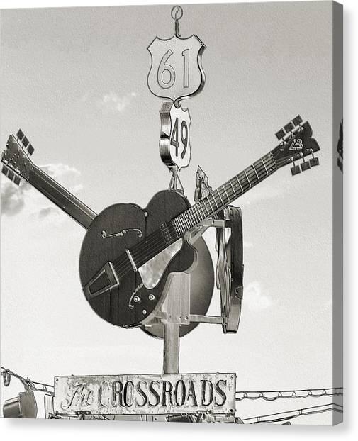 Ms Crossroads Canvas Print