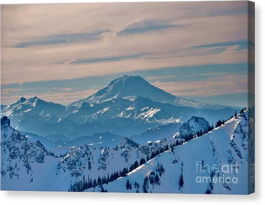 Mt Adams Canvas Print