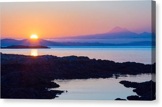 Mt. Baker Sunrise Canvas Print