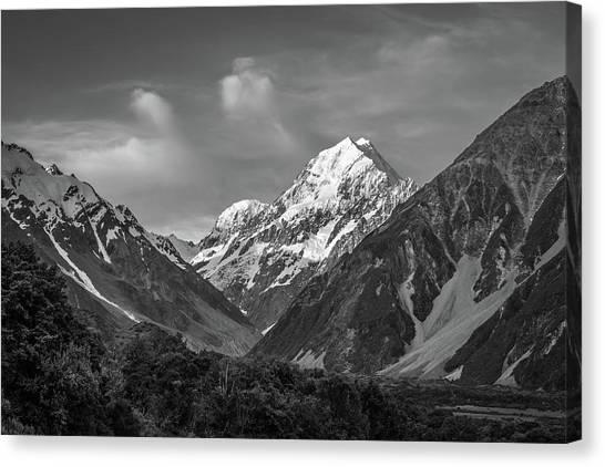 Mt Cook Wilderness Canvas Print