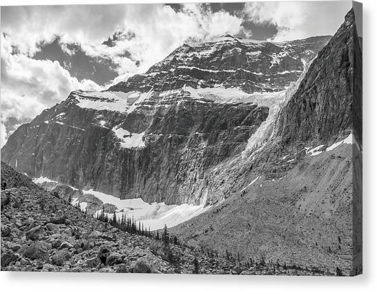 Mt. Edith Cavell Canvas Print