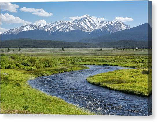 Mt. Elbert - Spring Canvas Print