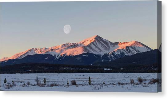 Mt. Elbert Sunrise Canvas Print