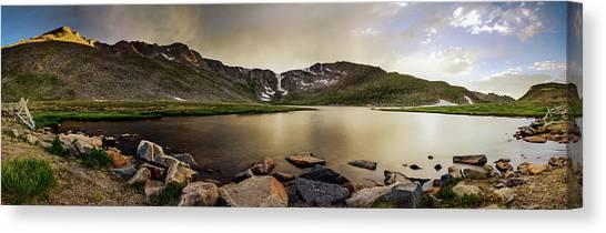 Mt. Evans Summit Lake Canvas Print