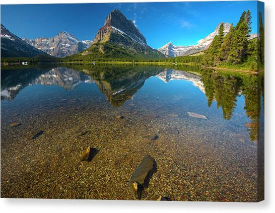 Mt. Grinnell Canvas Print