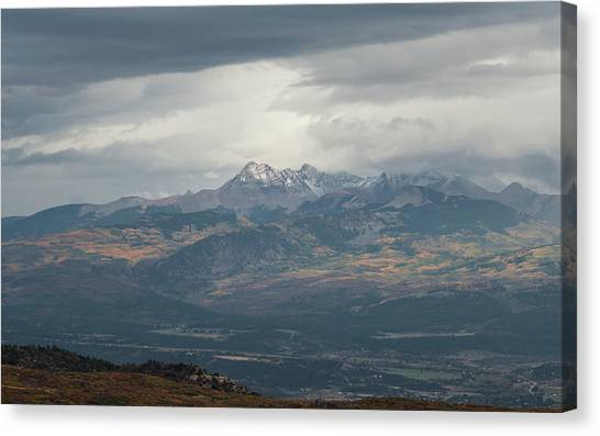 Verde Canvas Print - Mt. Hesperus by Joseph Smith