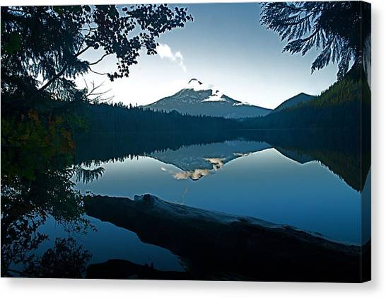 Mt. Hood Dawn Reflection Canvas Print