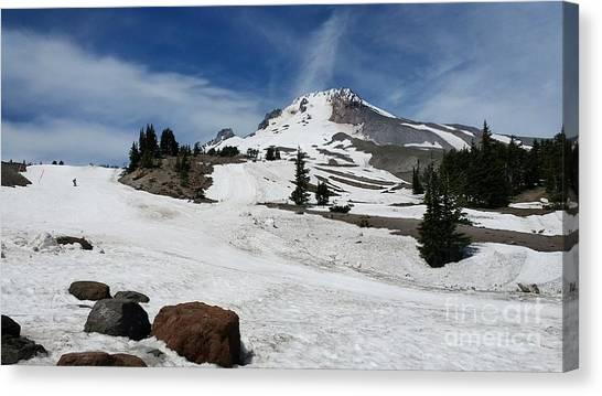 Mt. Hood In June Canvas Print