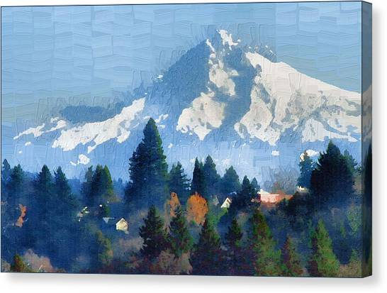Mt. Hood  Canvas Print by Margaret Hood