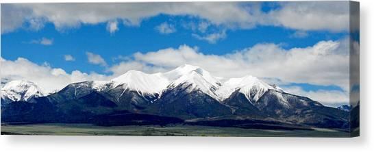 Mt. Princeton Colorado Canvas Print