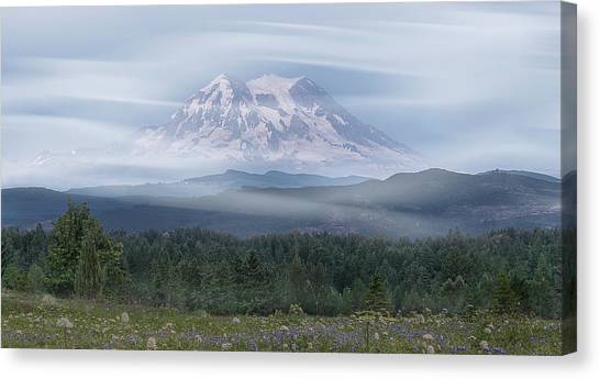 Mt. Rainier Canvas Print