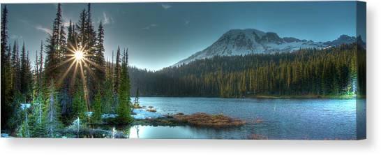 Mt. Rainier Sunrise Canvas Print
