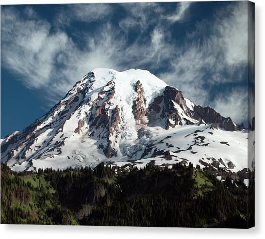 Mt Rainier - Washington State Canvas Print