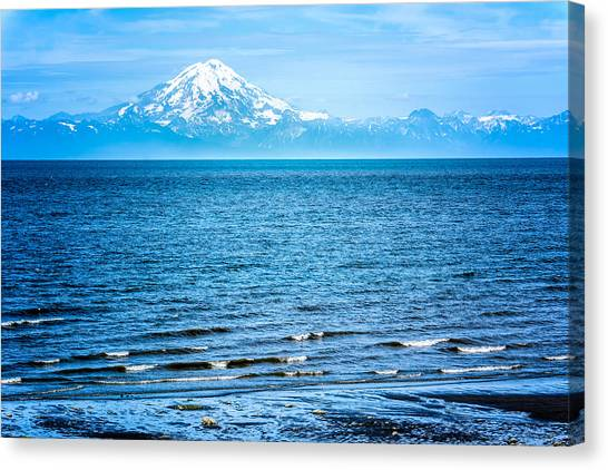 Mt. Redoubt Cooke Inlet Canvas Print