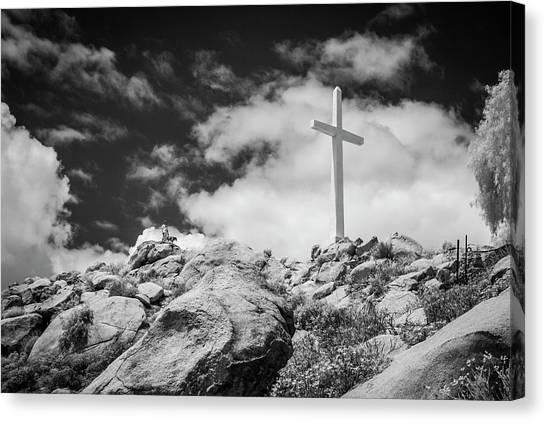 Canvas Print - Mt. Rubidoux by G Wigler
