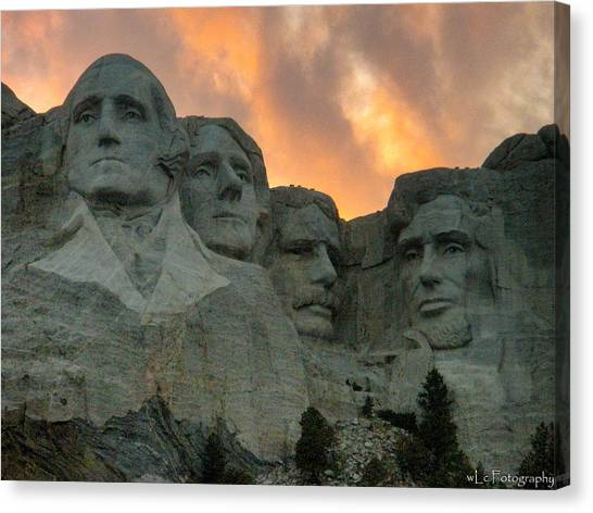 Mt. Rushmore Canvas Print