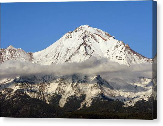 Mt. Shasta Summit Canvas Print