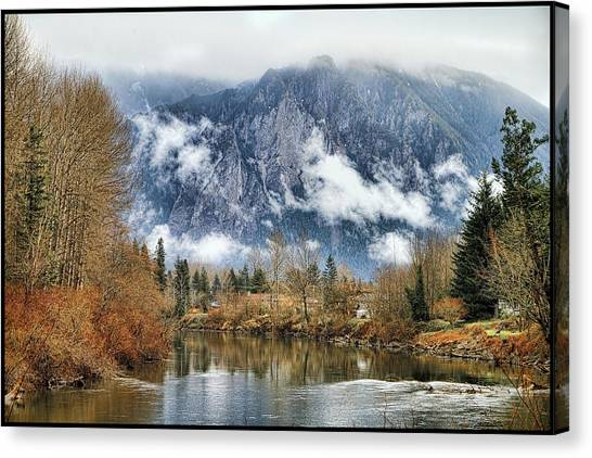 Mt Si Canvas Print