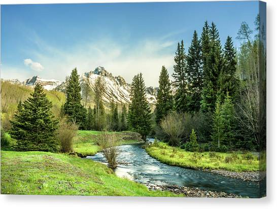 Mt. Sneffels Peak Canvas Print