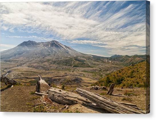 Mount St. Helens Canvas Print - Mt St Helens by Brian Harig