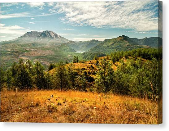 Mount St. Helens Canvas Print - Mt St Helens I by Brian Harig