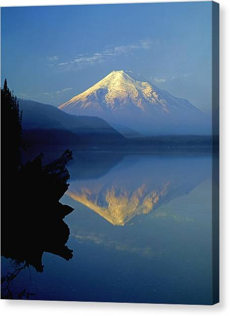 1m4907-v-mt. St. Helens Reflect V  Canvas Print