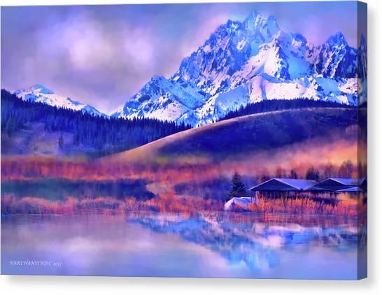 Mt. Stuart Canvas Print