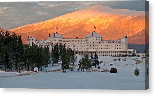 Mt. Washinton Hotel Canvas Print