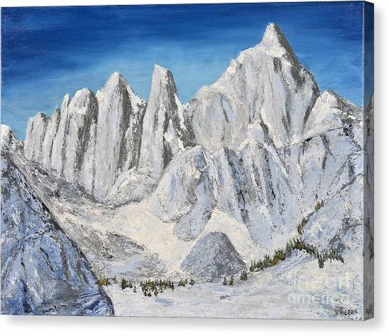 Mt. Whitney Summit Canvas Print