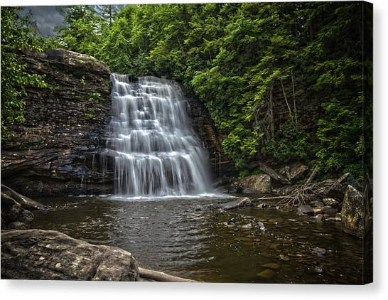 Muddy Creek Falls Canvas Print