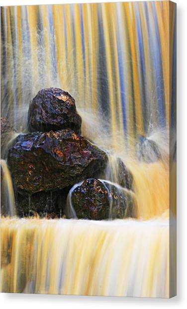 Muddy Water-st Lucia Canvas Print