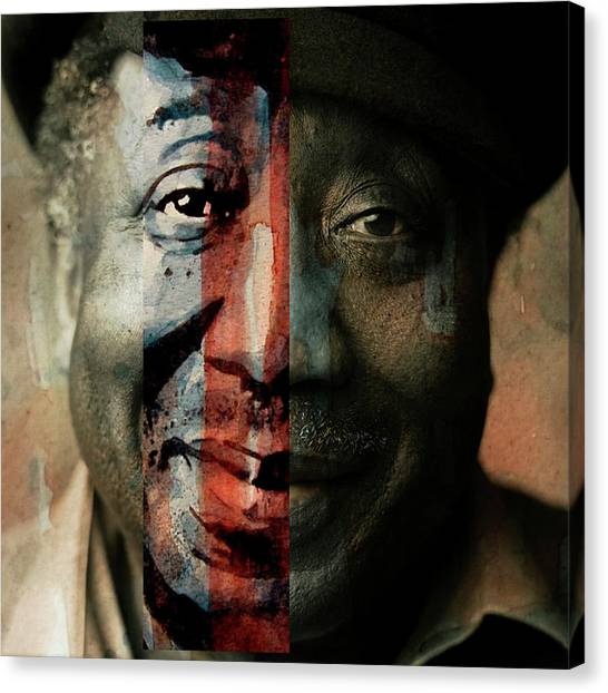 Concert Images Canvas Print - Muddy Waters - Mannish Boy  by Paul Lovering