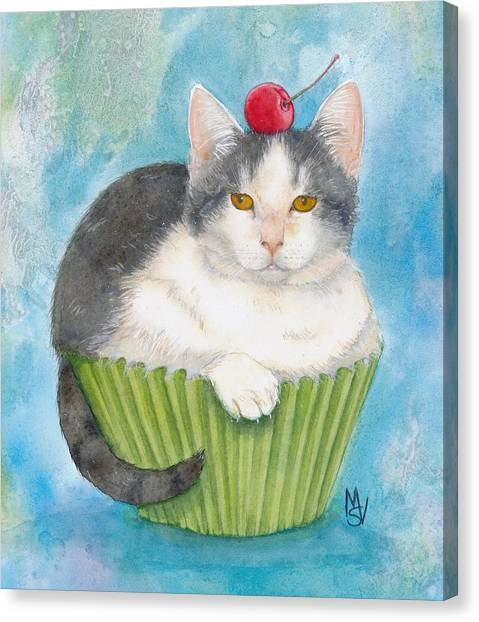 Muffin Of Animal Rescue And Foster Canvas Print