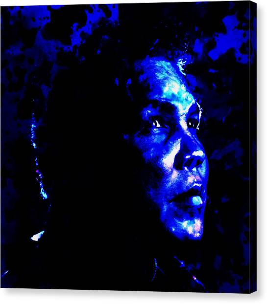 Joe Frazier Canvas Print - Muhammad Ali 01a by Brian Reaves