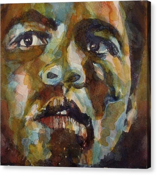 Boxers Canvas Print - Muhammad Ali   by Paul Lovering