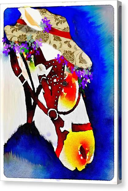 Mule Days Canvas Print