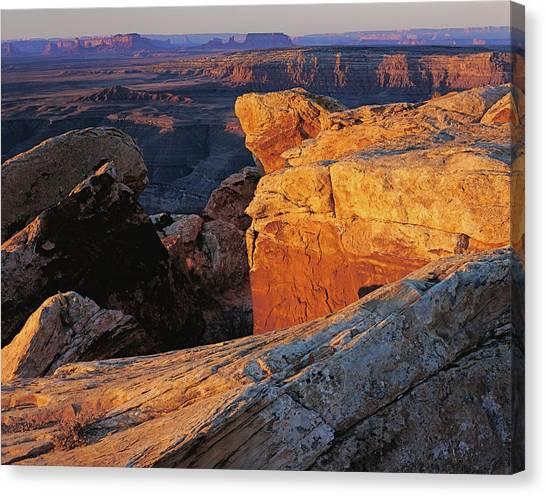 Muley Point Sunrise Canvas Print