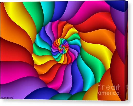 Multichrome 15  Canvas Print