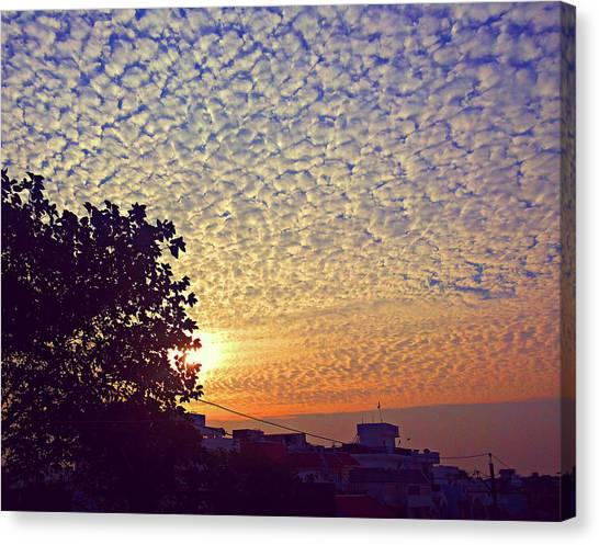 Multicoloured Sky Canvas Print