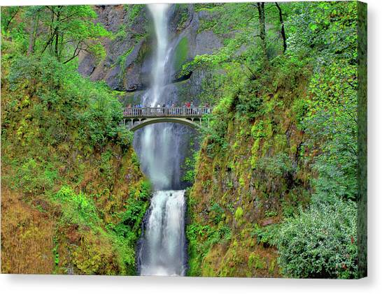 Multnomah Falls 2  Canvas Print