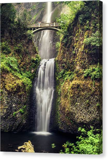Multnomah Falls Lower Canvas Print