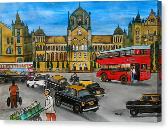 Mumbai Meri Jaan Canvas Print