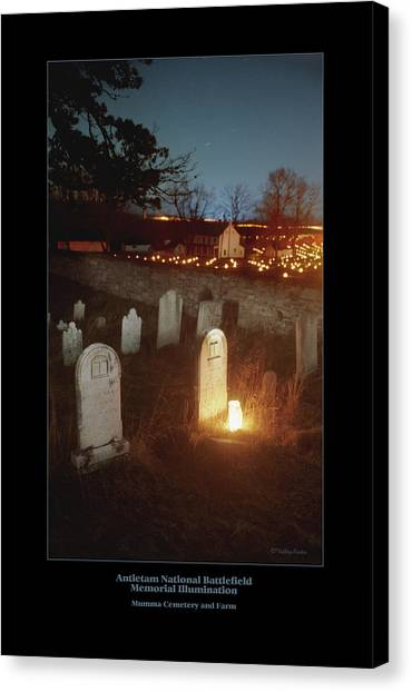 Mumma Cemetery And Farm 96 Canvas Print by Judi Quelland