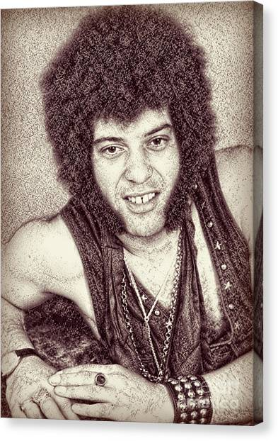 Mungo Jerry Portrait - Drawing Canvas Print