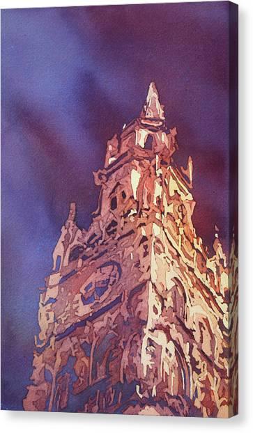 Munich Canvas Print - Munich Rathaus by Jenny Armitage