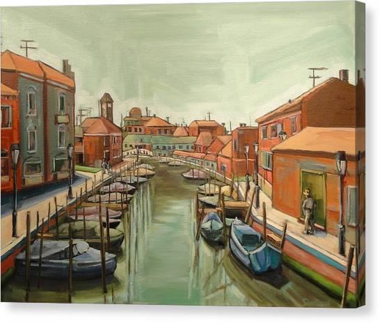 Murano Italy Canvas Print