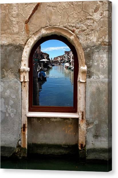 Murano Reflection Canvas Print