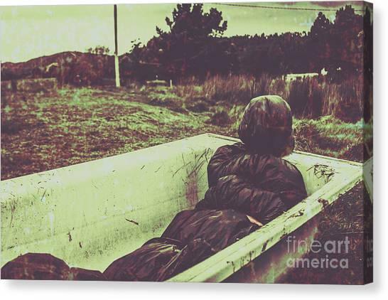 Outdoors Canvas Print - Murder Body Bag by Jorgo Photography - Wall Art Gallery